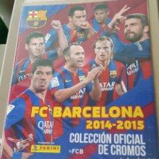 Álbum de fútbol completo: FC BARCELONA 2014-2015 – ALBUM COMPLETO. Lote 177651560