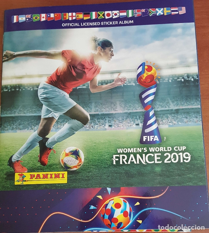 Álbum de fútbol completo: FIFA WOMEN'S WORLD CUP FRANCE 2019 – Álbum completo - Foto 1 - 177651767