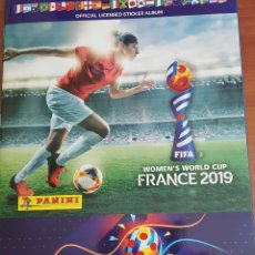 Álbum de fútbol completo: FIFA WOMEN'S WORLD CUP FRANCE 2019 – ÁLBUM COMPLETO. Lote 177651767
