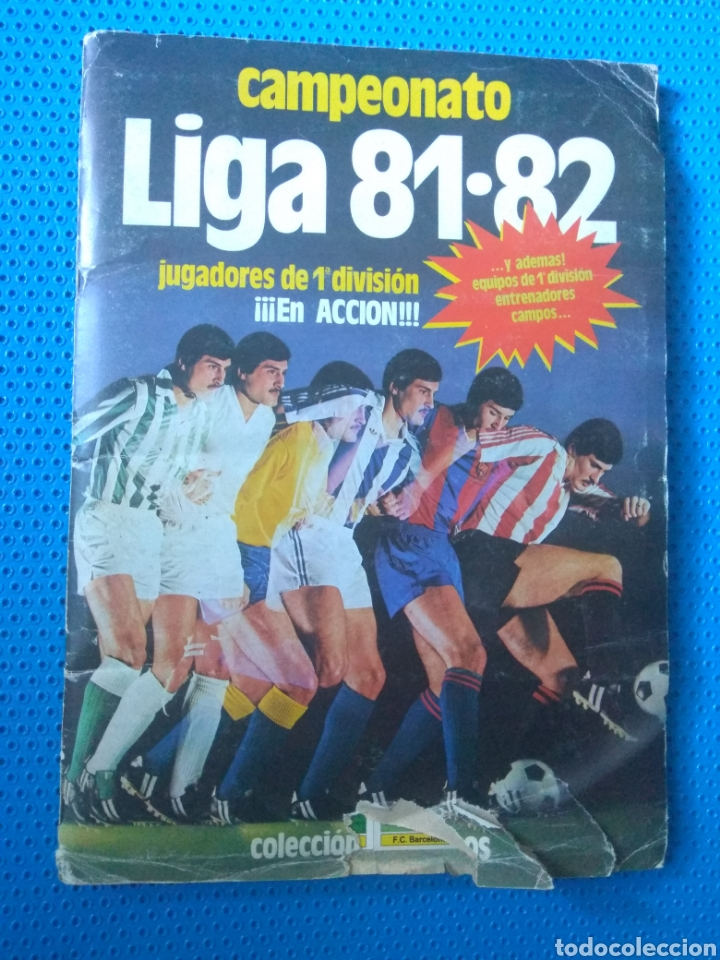 Álbum de fútbol completo: ÁLBUM FÚTBOL CAMPEONATO LIGA 81-82 .EDICIONES ESTE. - Foto 2 - 80785419
