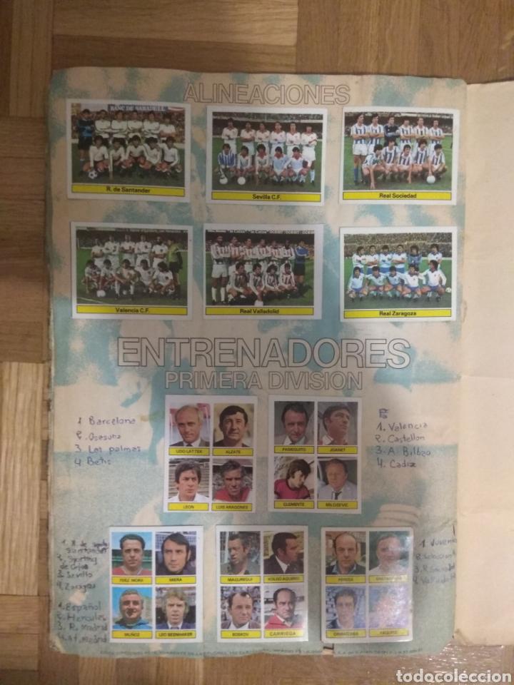 Álbum de fútbol completo: ÁLBUM FÚTBOL CAMPEONATO LIGA 81-82 .EDICIONES ESTE. - Foto 3 - 80785419