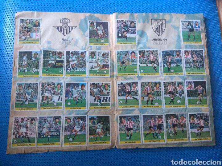 Álbum de fútbol completo: ÁLBUM FÚTBOL CAMPEONATO LIGA 81-82 .EDICIONES ESTE. - Foto 5 - 80785419