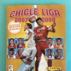 Álbum de fútbol completo: LIGA ESTE - ÁLBUM COMPLETO DE CHICLE - 2007/2008 CON LOS 240 CROMOS CHICLES. Lote 177793042