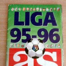 Álbum de fútbol completo: LIGA 1995 – 1996 AS COMPLETO EN BUEN ESTADO. Lote 177817427