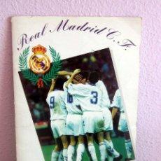 Álbum de fútbol completo: REAL MADRID 1994 1995 ALBUM COMPLETO EN MUY BUEN ESTADO . Lote 177818219