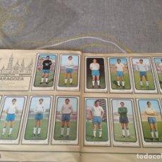 Álbum de fútbol completo: ED. RUIZ ROMERO 1973 -74 R. ZARAGOZA ( 14 CROMOS.RECUPERADOS ). Lote 177880842