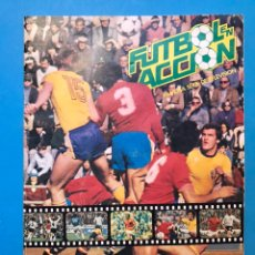 Álbum de fútbol completo: ALBUM CROMOS FUTBOL EN ACCION - DANONE - ALBUM COMPLETO. Lote 178168026