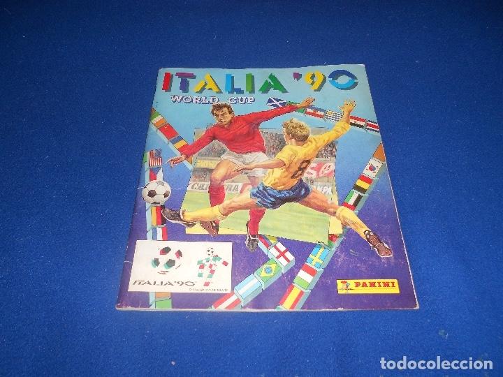 PANINI ITALIA 90, COMPLETO ALBUM DE CROMOS, COMPLETO 1990 FUTBOL MATERIAL DE PRIMERA (Coleccionismo Deportivo - Álbumes y Cromos de Deportes - Álbumes de Fútbol Completos)