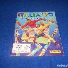 Álbum de fútbol completo: PANINI ITALIA 90, COMPLETO ALBUM DE CROMOS, COMPLETO 1990 FUTBOL MATERIAL DE PRIMERA. Lote 178232937