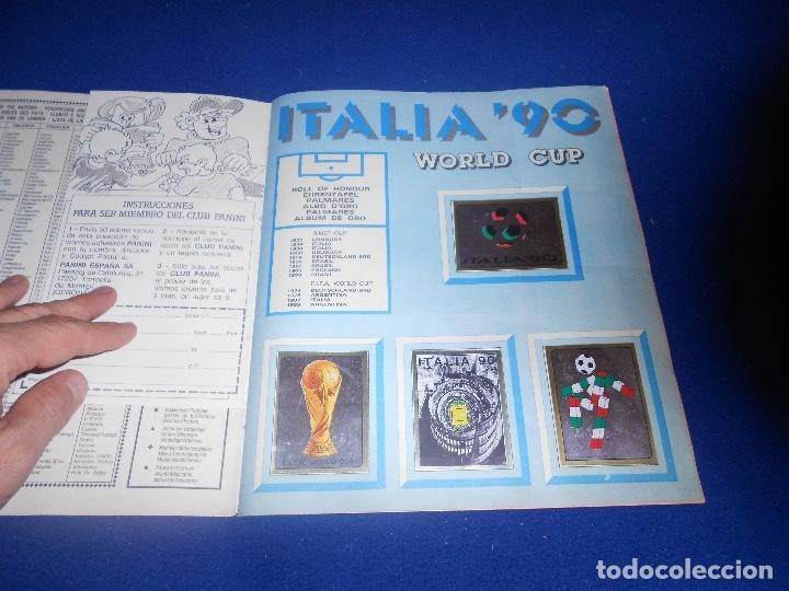 Álbum de fútbol completo: PANINI ITALIA 90, COMPLETO ALBUM DE CROMOS, COMPLETO 1990 FUTBOL MATERIAL DE PRIMERA - Foto 3 - 178232937