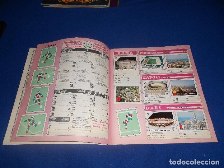 Álbum de fútbol completo: PANINI ITALIA 90, COMPLETO ALBUM DE CROMOS, COMPLETO 1990 FUTBOL MATERIAL DE PRIMERA - Foto 4 - 178232937