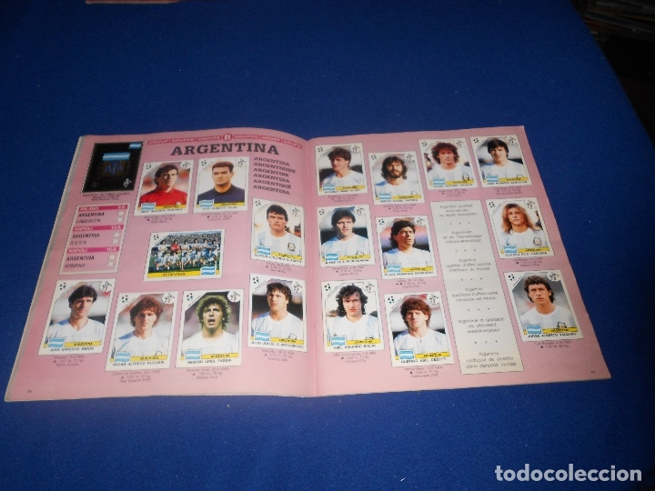 Álbum de fútbol completo: PANINI ITALIA 90, COMPLETO ALBUM DE CROMOS, COMPLETO 1990 FUTBOL MATERIAL DE PRIMERA - Foto 10 - 178232937