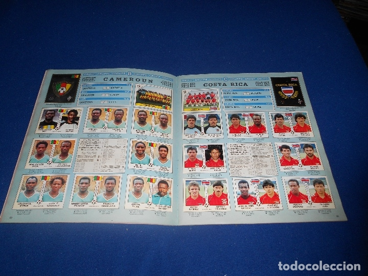 Álbum de fútbol completo: PANINI ITALIA 90, COMPLETO ALBUM DE CROMOS, COMPLETO 1990 FUTBOL MATERIAL DE PRIMERA - Foto 13 - 178232937