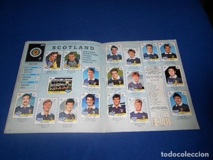 Álbum de fútbol completo: PANINI ITALIA 90, COMPLETO ALBUM DE CROMOS, COMPLETO 1990 FUTBOL MATERIAL DE PRIMERA - Foto 15 - 178232937