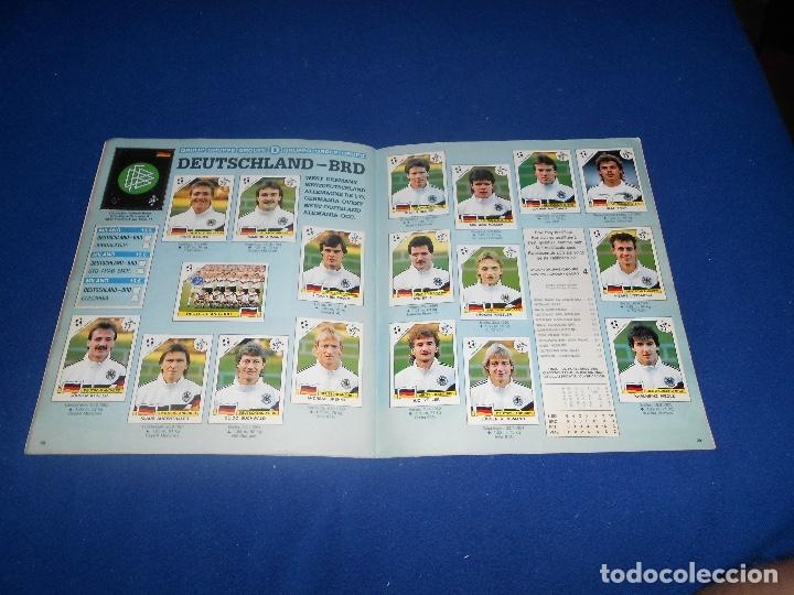 Álbum de fútbol completo: PANINI ITALIA 90, COMPLETO ALBUM DE CROMOS, COMPLETO 1990 FUTBOL MATERIAL DE PRIMERA - Foto 17 - 178232937
