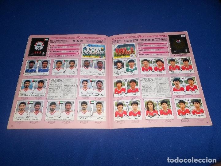 Álbum de fútbol completo: PANINI ITALIA 90, COMPLETO ALBUM DE CROMOS, COMPLETO 1990 FUTBOL MATERIAL DE PRIMERA - Foto 20 - 178232937