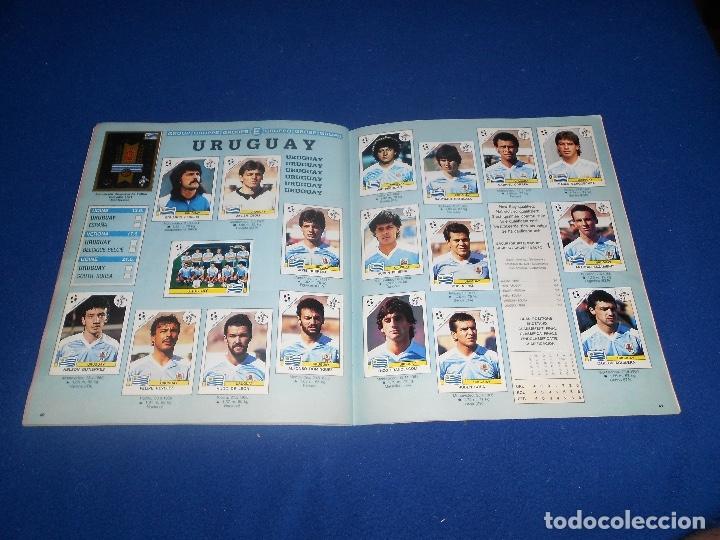 Álbum de fútbol completo: PANINI ITALIA 90, COMPLETO ALBUM DE CROMOS, COMPLETO 1990 FUTBOL MATERIAL DE PRIMERA - Foto 23 - 178232937