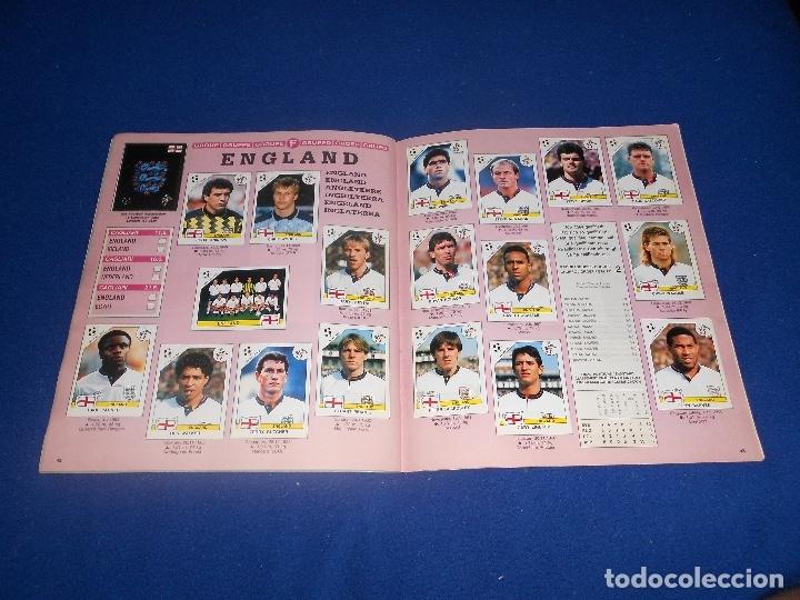 Álbum de fútbol completo: PANINI ITALIA 90, COMPLETO ALBUM DE CROMOS, COMPLETO 1990 FUTBOL MATERIAL DE PRIMERA - Foto 24 - 178232937