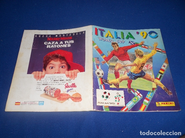 Álbum de fútbol completo: PANINI ITALIA 90, COMPLETO ALBUM DE CROMOS, COMPLETO 1990 FUTBOL MATERIAL DE PRIMERA - Foto 29 - 178232937