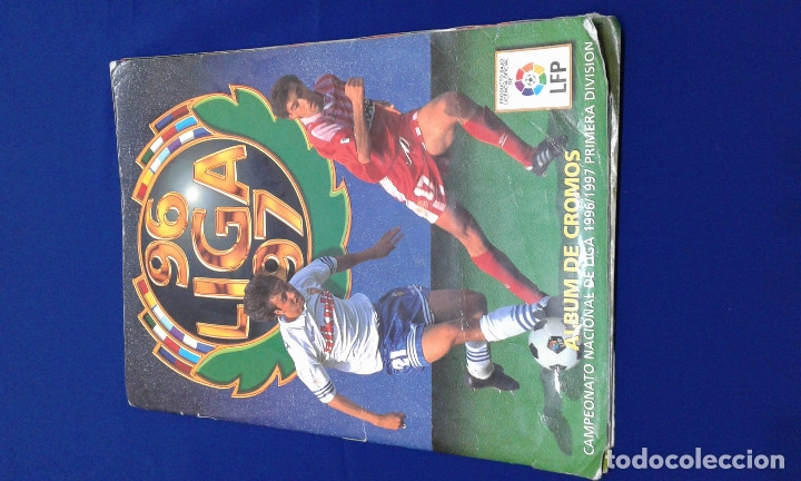 ALBUM LIGA 96-97 (Coleccionismo Deportivo - Álbumes y Cromos de Deportes - Álbumes de Fútbol Completos)