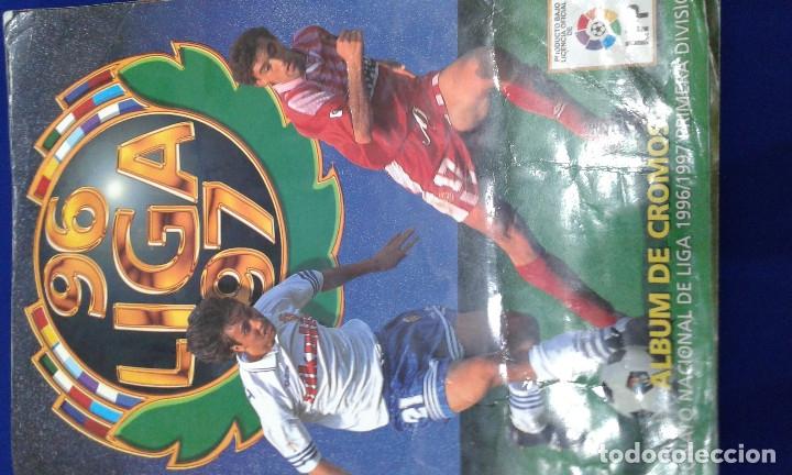 Álbum de fútbol completo: ALBUM LIGA 96-97 - Foto 2 - 178258466