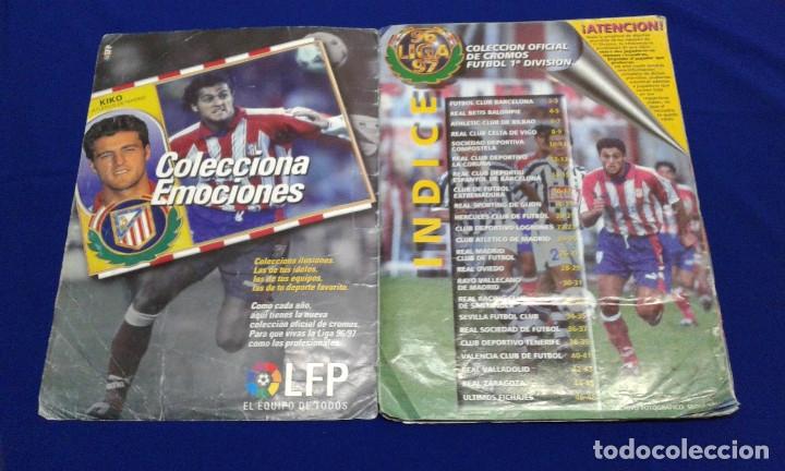 Álbum de fútbol completo: ALBUM LIGA 96-97 - Foto 3 - 178258466