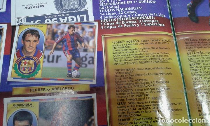Álbum de fútbol completo: ALBUM LIGA 96-97 - Foto 5 - 178258466