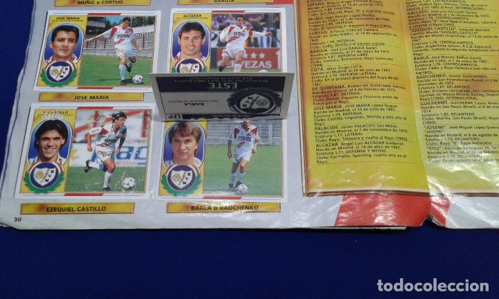 Álbum de fútbol completo: ALBUM LIGA 96-97 - Foto 31 - 178258466