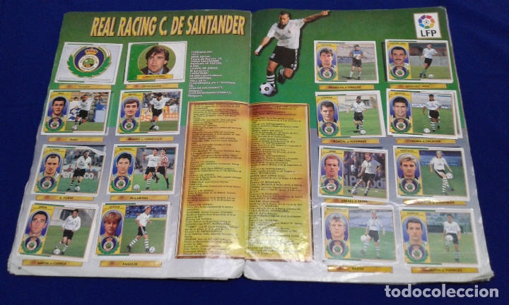 Álbum de fútbol completo: ALBUM LIGA 96-97 - Foto 33 - 178258466