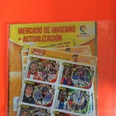 Álbum de fútbol completo: LIGA ESTE 2018-2019 - MERCADO DE INVIERNO + ACTUALIZACIÓN - COMPLETO NUEVO - 42 CROMOS. Lote 178322350