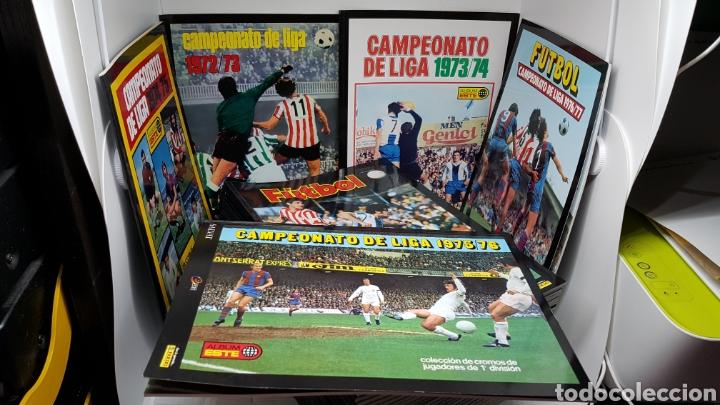 COLECCION UNICA COMPLETA 36 ALBUMES FACSÍMIL EDICIONES ESTE SALVAT LIGA DESDE 1972 1973 A 2007 2008 (Coleccionismo Deportivo - Álbumes y Cromos de Deportes - Álbumes de Fútbol Completos)