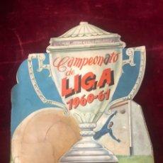 Álbum de fútbol completo: CAMPEONATO LIGA 1960/61 EDITORIAL FHER COMPLETO. Lote 178404030