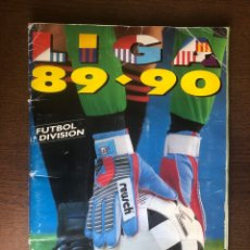 Álbum de fútbol completo: ÁLBUM FÚTBOL LIGA ESTE 1989-1990 COMPLETO 89-90 BUEN ESTADO. Lote 178626266