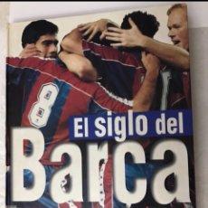 Álbum de fútbol completo: LIBRO EL SIGLO DEL BARÇA 100 AÑOS DE IMÁGENES 1997 COMPLETO. Lote 178635943