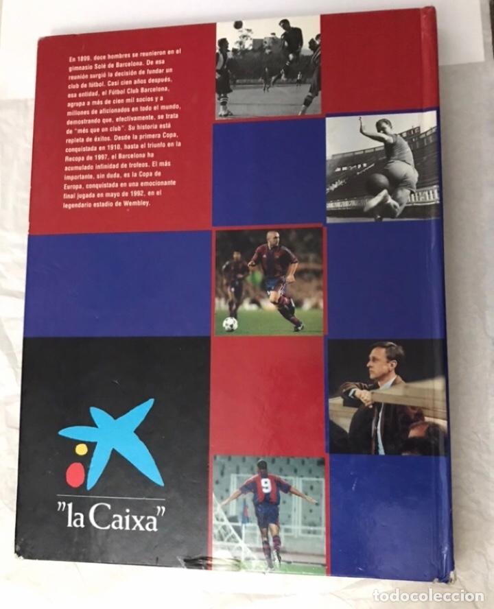 Álbum de fútbol completo: Libro el siglo del barça 100 años de imágenes 1997 completo - Foto 2 - 178635943
