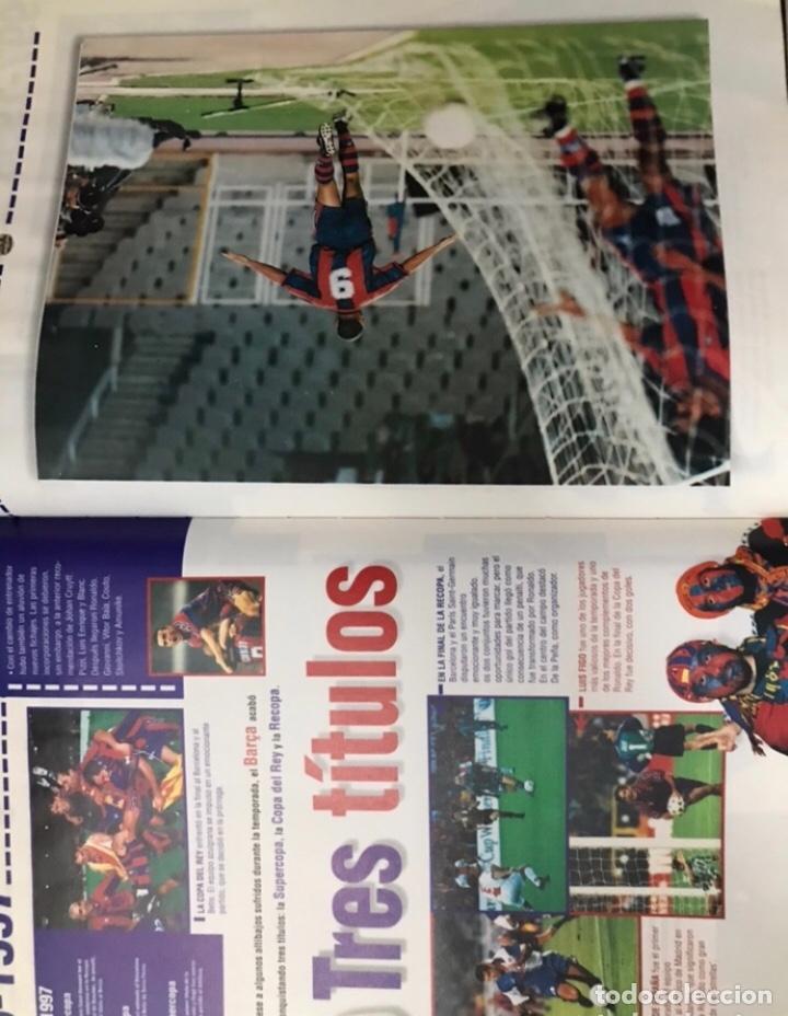 Álbum de fútbol completo: Libro el siglo del barça 100 años de imágenes 1997 completo - Foto 8 - 178635943