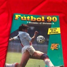 Álbum de fútbol completo: FÚTBOL 90. PANINI ÁLBUM COMPLETO. EXCELENTE ESTADO. LIGA 88-89.. Lote 178645961