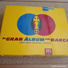 Álbum de fútbol completo: EL GRAN ÁLBUM DEL BARCA. Lote 178774737