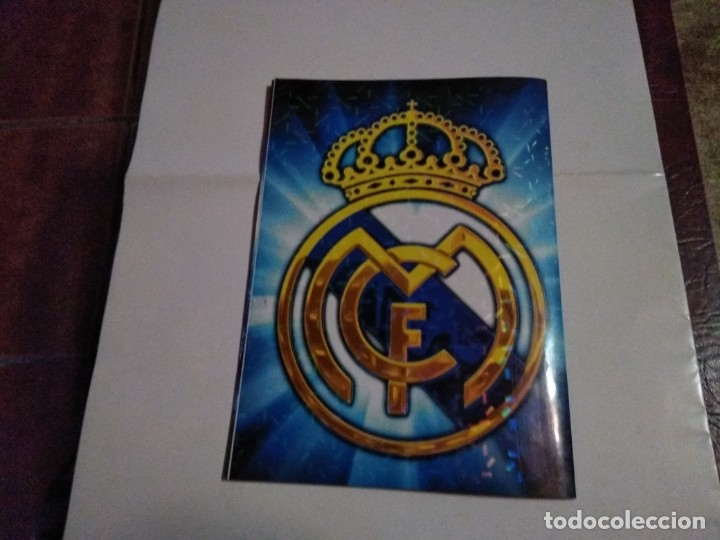 COLECCIÓN COMPLETA CROMOS HALA MADRID ADHESIVOS PEGADOS (Coleccionismo Deportivo - Álbumes y Cromos de Deportes - Álbumes de Fútbol Completos)