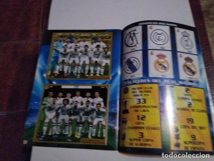 Álbum de fútbol completo: COLECCIÓN COMPLETA CROMOS HALA MADRID ADHESIVOS PEGADOS - Foto 2 - 178829688