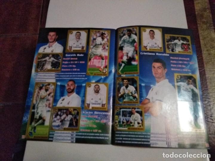 Álbum de fútbol completo: COLECCIÓN COMPLETA CROMOS HALA MADRID ADHESIVOS PEGADOS - Foto 3 - 178829688