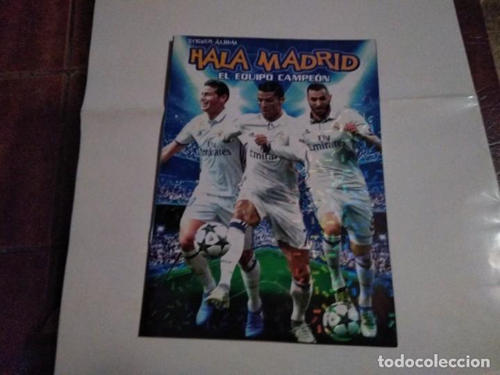 Álbum de fútbol completo: COLECCIÓN COMPLETA CROMOS HALA MADRID ADHESIVOS PEGADOS - Foto 5 - 178829688