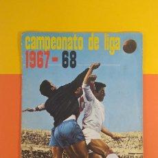 Álbum de fútbol completo: ÁLBUM CAMPEONATO DE LIGA 1967-68 DISGRA COMPLETO. Lote 178872060