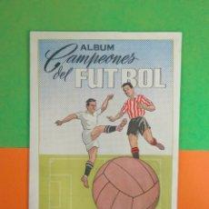 Álbum de fútbol completo: ÁLBUM CAMPEONES DEL FUTBOL 1954-1955 ARGA . Lote 178873011