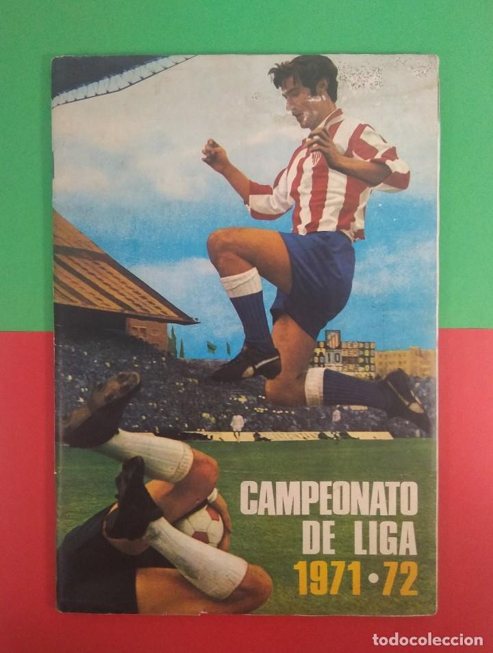 ÁLBUM CAMPEONATO DE LIGA 1971-72 DISGRA COMPLETO (Coleccionismo Deportivo - Álbumes y Cromos de Deportes - Álbumes de Fútbol Completos)
