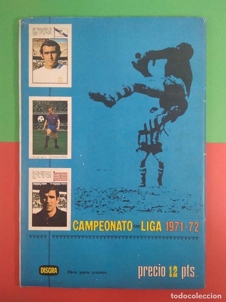 Álbum de fútbol completo: ÁLBUM CAMPEONATO DE LIGA 1971-72 DISGRA COMPLETO - Foto 2 - 178874392