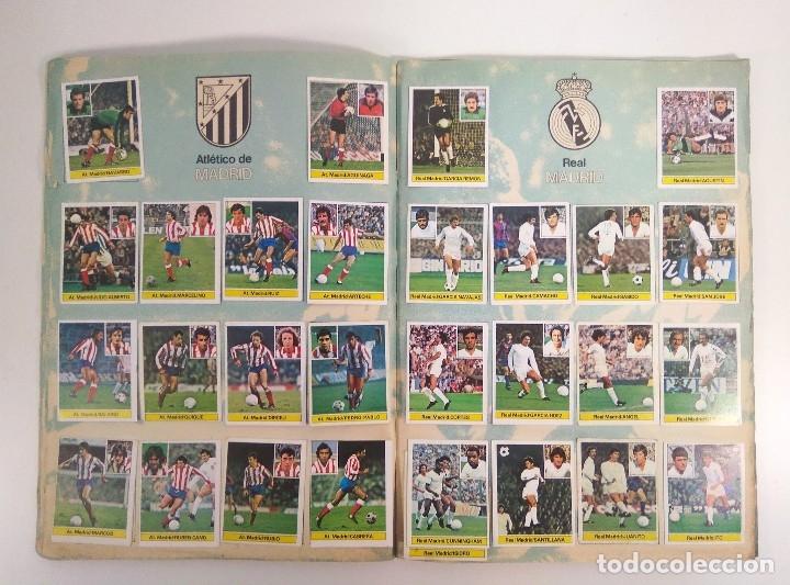 Álbum de fútbol completo: ÁLBUM CAMPEONATO DE LIGA 1981-82 COMPLETO - Foto 3 - 178877362