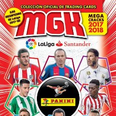 Álbum de fútbol completo: MEGACRACKS 2017-2018 – ALBUM COMPLETO. Lote 178912431