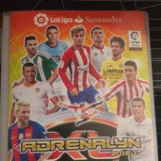 Álbum de fútbol completo: LIGA 2016-2017 ADRENALYN XL – ÁLBUM COMPLETO. Lote 178913881