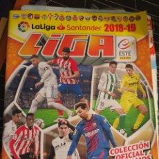 Álbum de fútbol completo: LIGA 2018-2019 COLECCIÓN ESTE DE PANINI. Lote 178914672